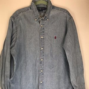 Ralph Lauren Button Up Denim Shirt